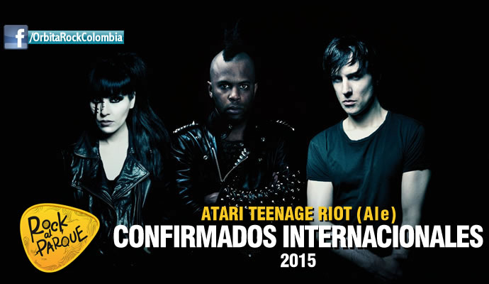 Atari Teenage Riot, invitado internacional a Rock al Parque 2015