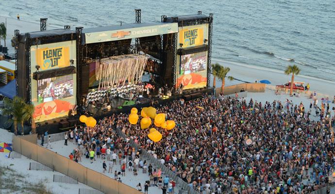 Hangout Music Fest es un festival al borde de la playa