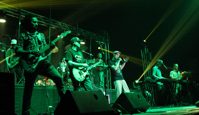 Los Cafres en Bogota