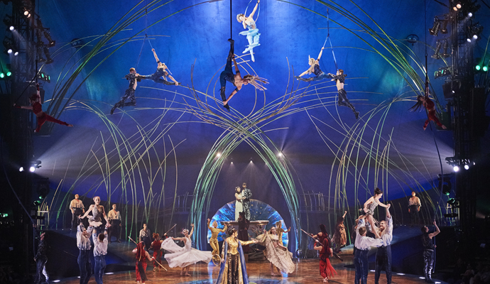 El Cirque Du Soléil regresa a Colombia con el show Amaluna