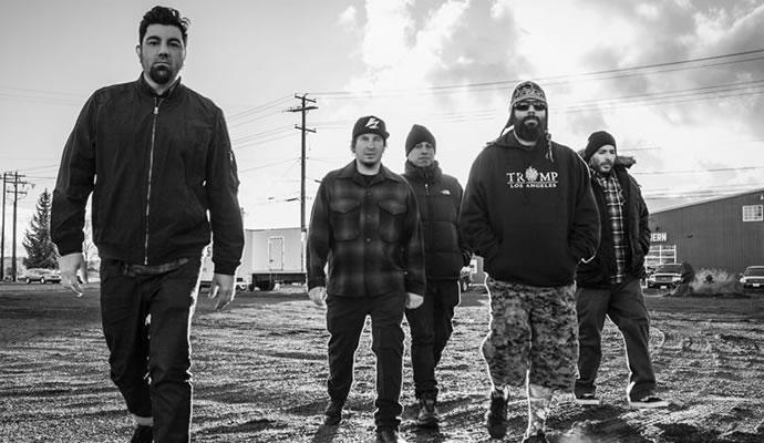 """La banda de metal alternativo Deftones, presenta su nuevo disco """"Gore"""""""