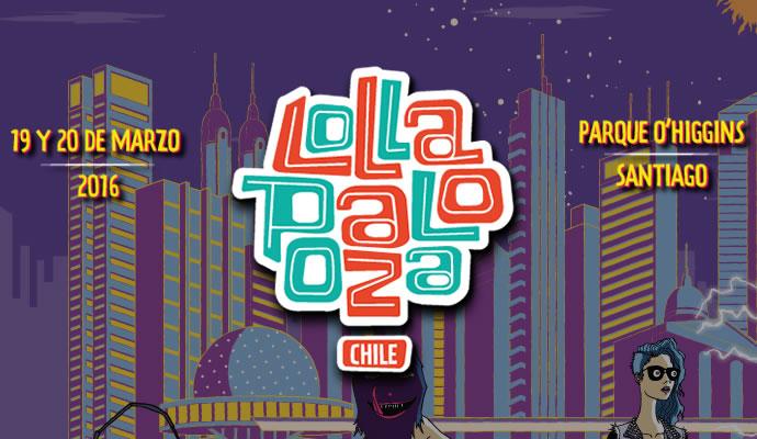 Lollapalooza Chile será el 19 y 20 de marzo