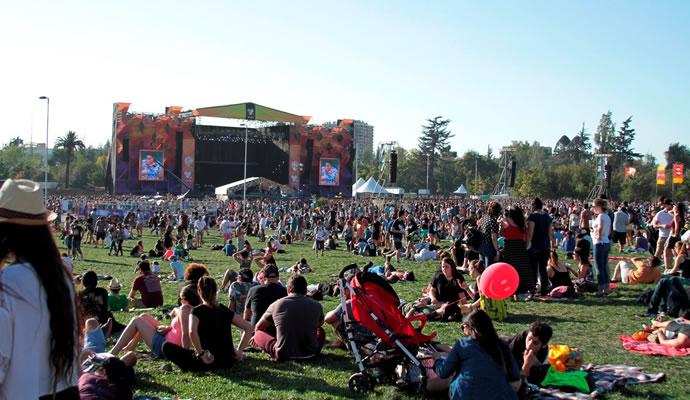 Lollapalooza 2016 en el Parque O´Higgins - Foto: Leenoree Photography