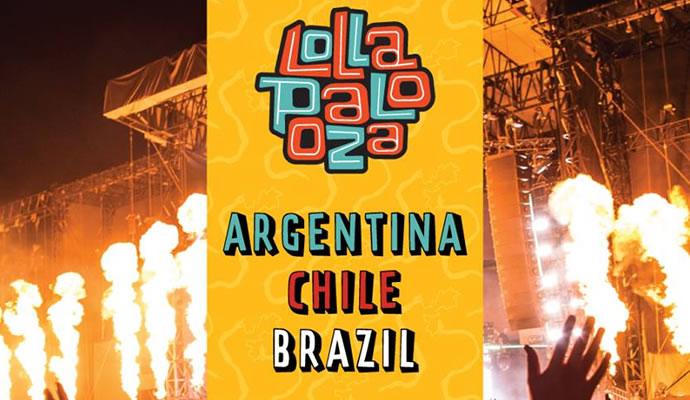 del 25 de marzo al 2 de abril se realizará Lollapalooza en latinoamérica