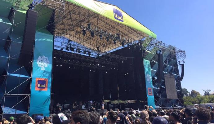 Itau Stage Lollapalooza Chile -  Foto: Victoria Cerón