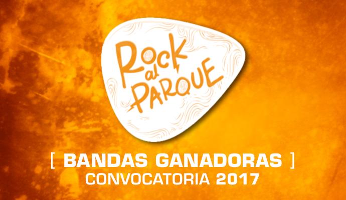 Aquí las 20 bandas ganadoras del proceso de convocatorias de Rock al Parque 2017
