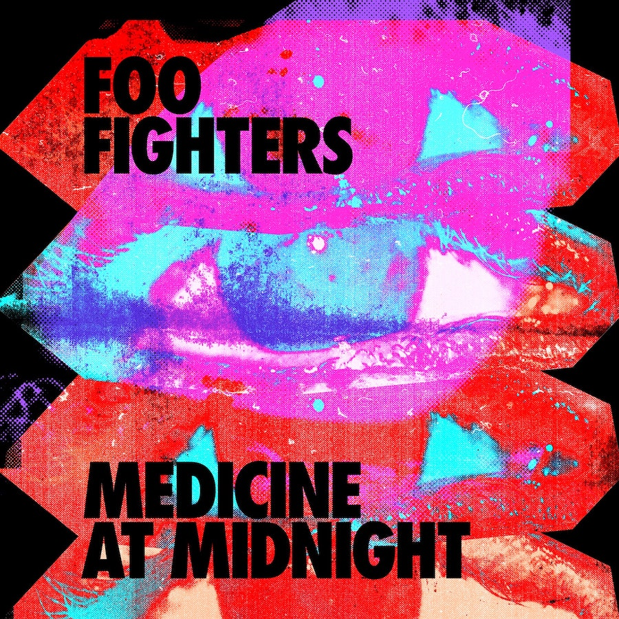 Portada Medicine at Midnight de Foo Fighters