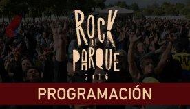 Programación General Rock Al Parque 2016