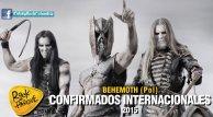 Behemoth, invitado internacional a Rock al Parque 2015