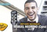 El cantautor Manuel Medrano estará en Rock el Parque 2015