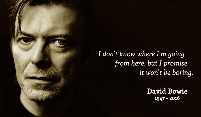 A los 69 años murió David Bowie