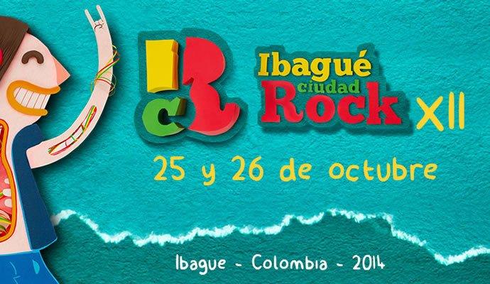 Ibagué Ciudad Rock 2014 25 y 26 de octubre