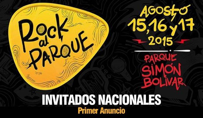 El día de hoy se dió a conocer el primer anuncio de bandas nacionales invitadas a Rock al Parque 2015
