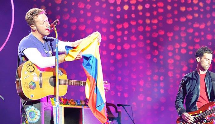 Coldplay en Bogotá - Foto: David Martin