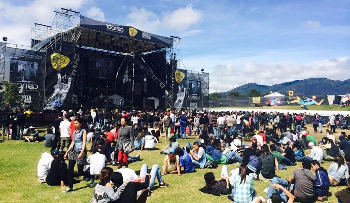 Escenario ECO de Rock al Parque edición 2014