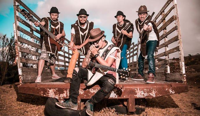 Velo de Oza, agrupación de carranga rock colombiana