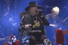 Axl Rose junto a AC/DC en Lisboa