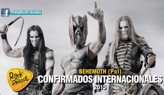 Behemoth, invitado internacional a Rock al Parque 2015