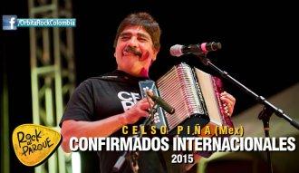 Celso Piña, invitado internacional a Rock al Parque 2015