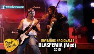 La agrupación Blasfemia se presentará en Rock al Parque 2015