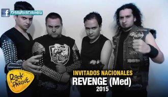 La banda antioqueña de metal Revenge se presentará en Rock al Parque 2015
