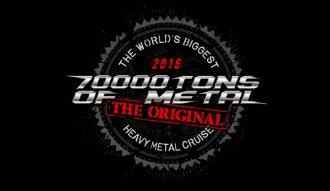 El festival 70.000 Tons of Metal se realiza anualmente en un crucero sobre el mar Caribe