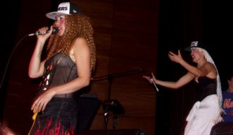 El dueto francés Cocorosie se presentó en Bogotá