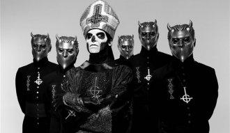 Los suecos de Ghost con su nuevo performance