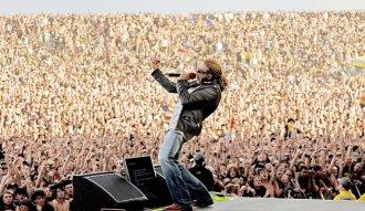 Axl Rose en un concierto en 2006