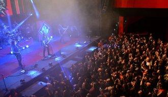 Machine Head en Bogotá (Fotografía: Felipe Rocha)