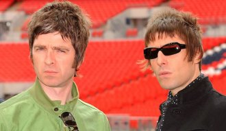 Noel y Liam Gallagher de Oasis