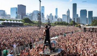 21 Pilots en Lollapalooza Chicago 2015. Foto: Mundo KTM