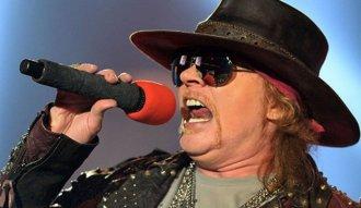 Axl Rose, vocalista de Guns N´ Roses y ahora también de AC/DC