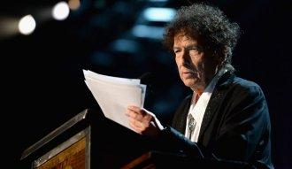 Bob Dylan entregó el discurso de aceptación del Premio Nobel de Literatura en un audio