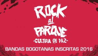 Aquí el listado de bandas inscritas a Rock al Parque 2016