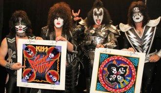 Kiss presenta su nuevo álbum Sonic Boom