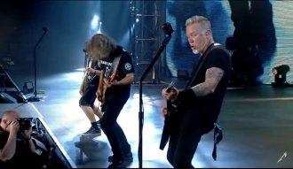 Metallica en vivo el 20 de agosto en Minneapolis - Captura YouTube