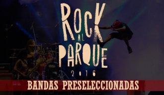 Estas son las bandas preseleccionadas para Rock al Parque 2016