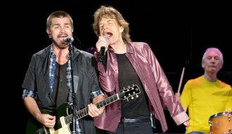 Juanes junto Los Rolling Stones en Bogotá