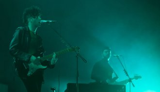 The 1979 en su show en Bogotá. Ph: David Micolta