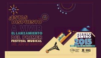 El primer festival musical del 2015