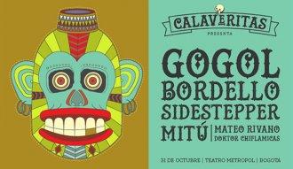 El 31 de octubre la fiesta de Halloween estará a cargo de Gogol Bordello y Sidestepper