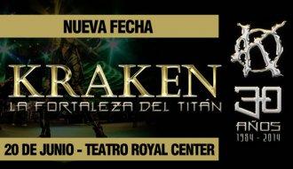 Se confirma la nueva fecha del concierto de Kraken en Bogotá